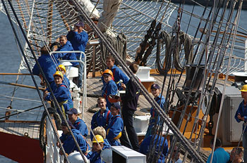 High Performance Coaching f.e. Tall Ships events